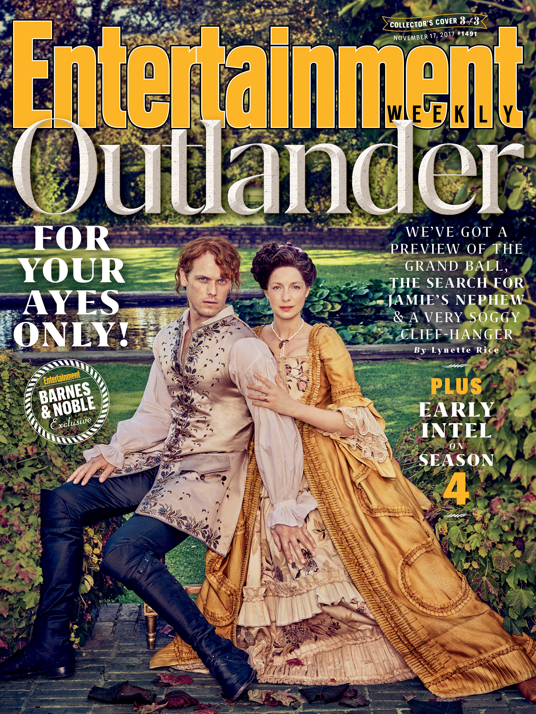 The Newest Outlander Entertainment Weekly Cover Is Here