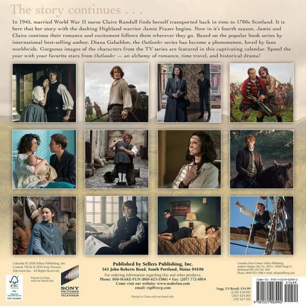 The 2019 'Outlander' Calendars | Outlander TV News